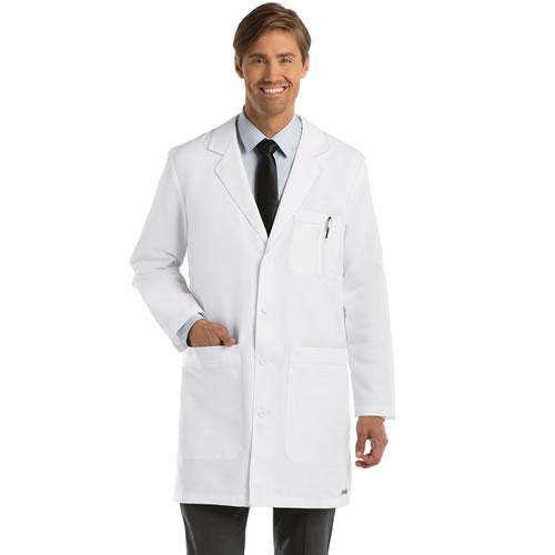 Grey's Anatomy Men's 37'' & 41'' Long White Lab Coat #0914