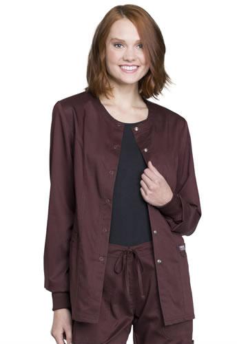 829b52be003 Revolution Workwear by Cherokee Women's Snap Front Scrub Jacket #WW310