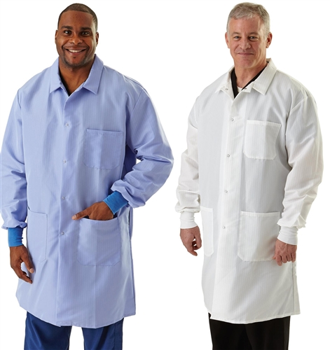 Resistat Men S Protective Lab Coats Reusable Protective